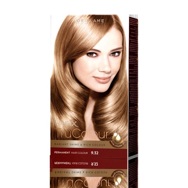 Цвет волос золотистый краска